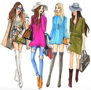 Няколко важни горещи модни тренда, характерни за годината